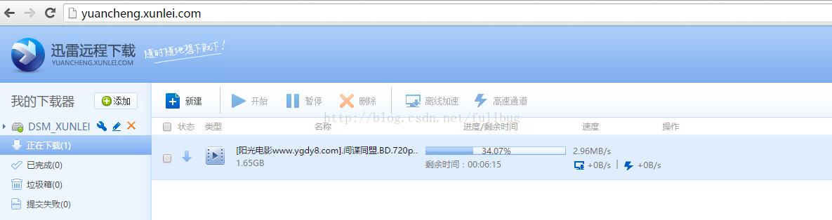 群晖利用Docker安装远程迅雷下载教程 NAS 第13张