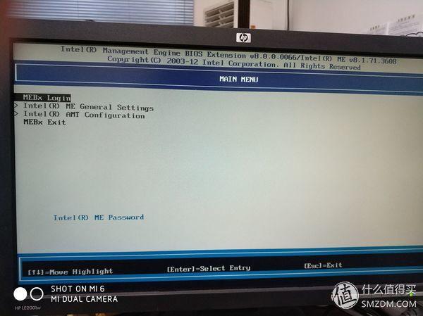 INTEL 英特尔 DQ77KB 主板 AMT配置