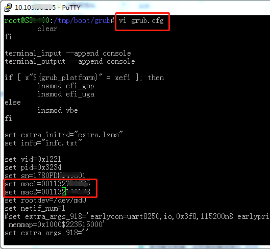 SSH在线修改黑群晖DS3617 DS918+的SN/MAC 群晖NAS 第2张