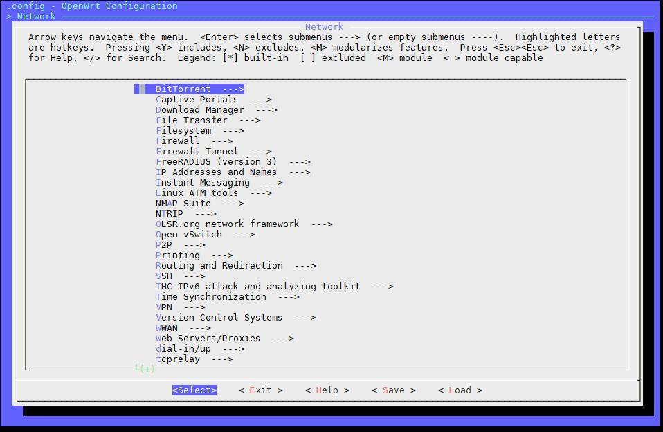 Lean openwrt/Lede(x86_x64)编译过程